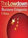Business Etiquette - China (MP3)